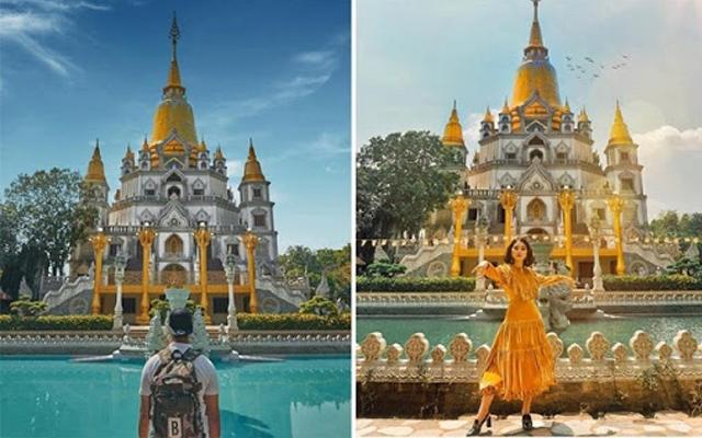 Chùa Bửu Long thu hút đông đảo du khách đến tham quan